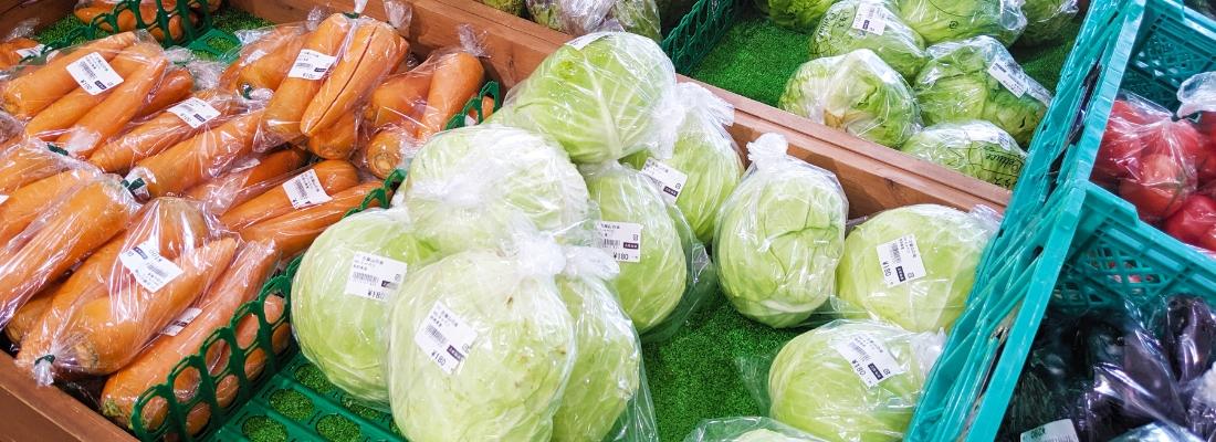 とれたて季節の野菜・果物